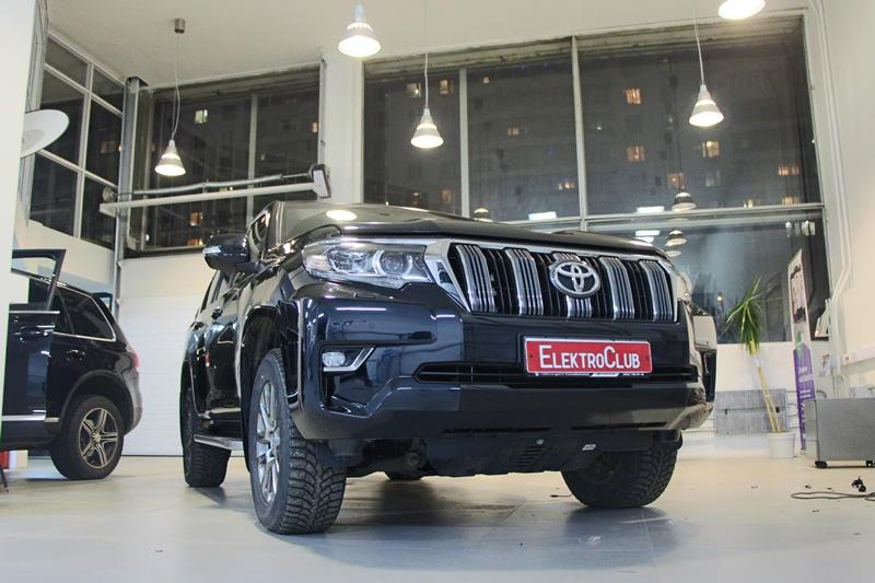 Авторская защита от угона Toyota Land Cruiser