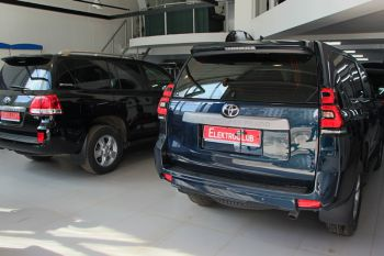 Авторская защита от угона TOYOTA LAND CRUISER PRADO